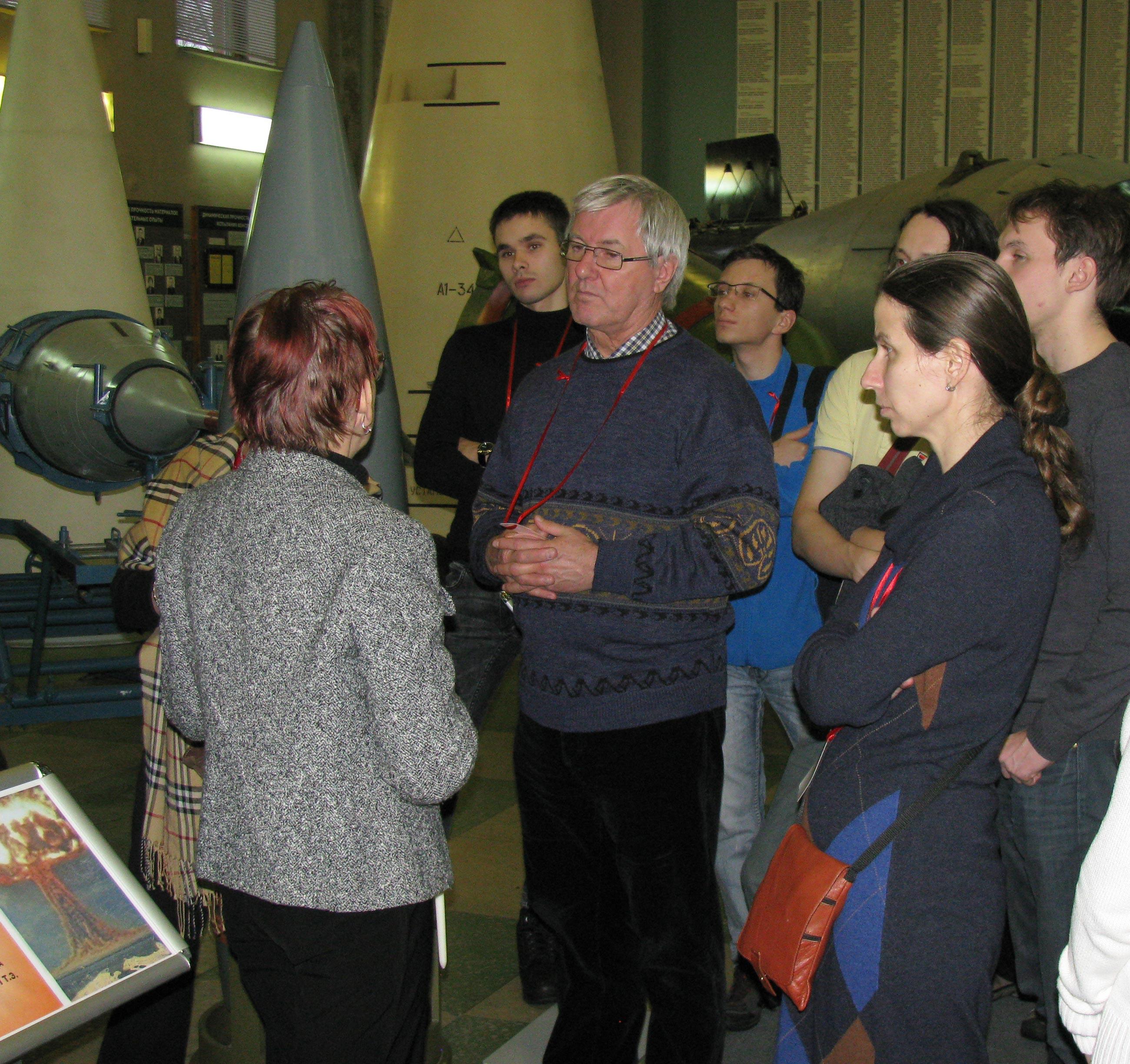 В музее ядерного центра